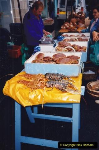 1994 France - October. (87) Morlaix and market. 87