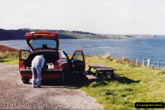 1994 France - October. (61) By the Baie De Morlaix.  Our favourite picknick spot. 55