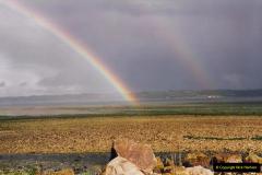 1994 France - October. (66) Morlaix river estuary. Double rainbow.64