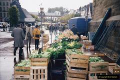 1994 France - October. (79) Morlaix and market. 79
