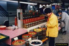 1994 France - October. (83) Morlaix and market. 83