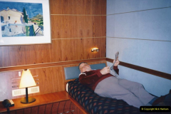 1994 France - October. (89) Our top grade cabin on the MV Val De Loire roscoff to Plymouth. 89