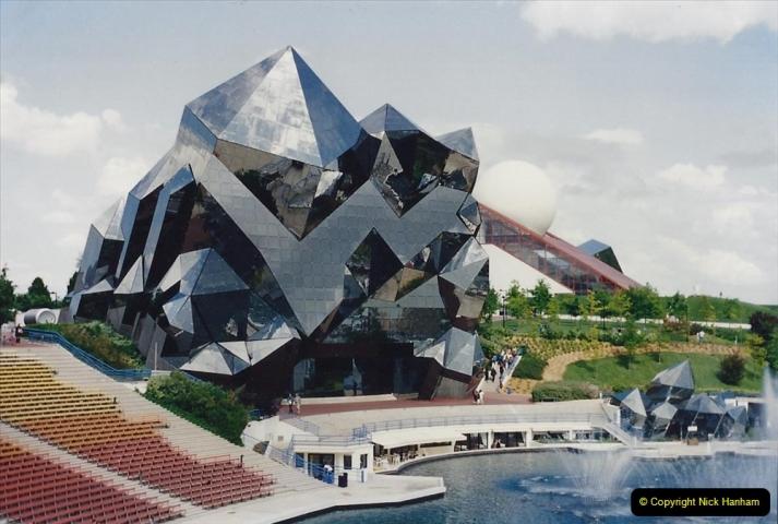 1995 France May - June. (29) Return visit to Futuroscope. 29