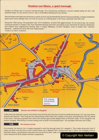 1995 France May - June. (37) Return visit to Oradour - Sur - Glane. 37