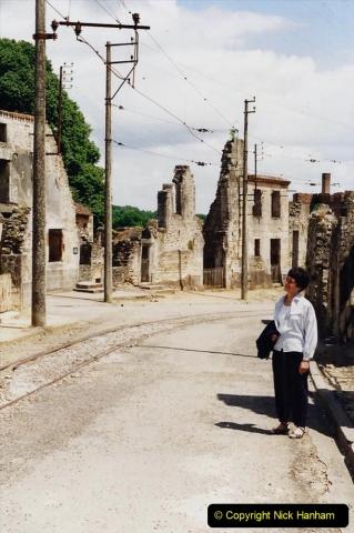1995 France May - June. (42) Return visit to Oradour - Sur - Glane. 42