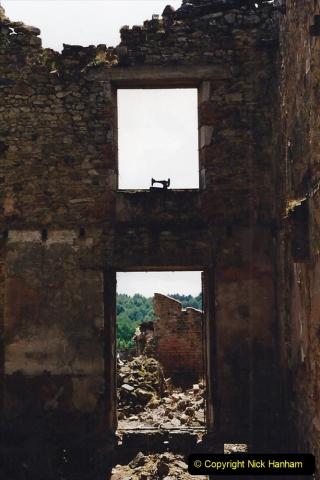 1995 France May - June. (43) Return visit to Oradour - Sur - Glane. 43