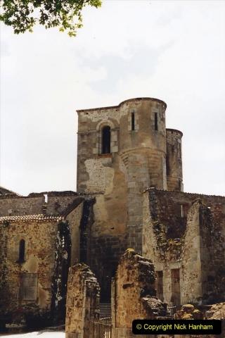 1995 France May - June. (45) Return visit to Oradour - Sur - Glane. 45