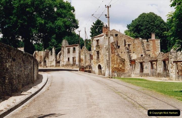 1995 France May - June. (46) Return visit to Oradour - Sur - Glane. 46