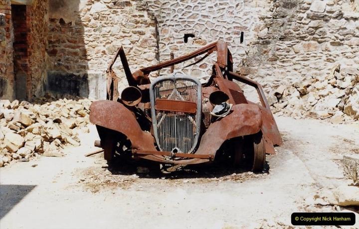 1995 France May - June. (47) Return visit to Oradour - Sur - Glane. 47