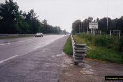 1995 France May - June. (3) Le Mans and on the famous Mulsanne Straight. 03