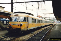 1995 France May - June. (34) Limoges SNCF. One of the Gas Turbine trains.34