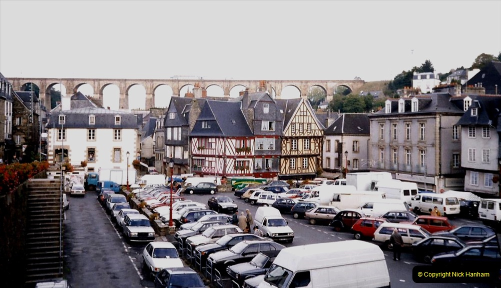 1995 France October. (63) Morlais and the Market. 63