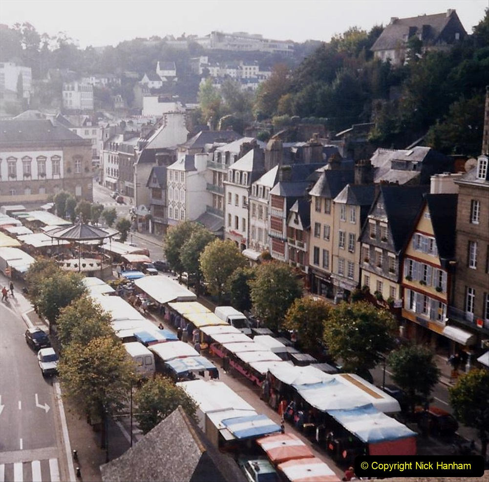 1995 France October. (66) Morlais and the Market. 66