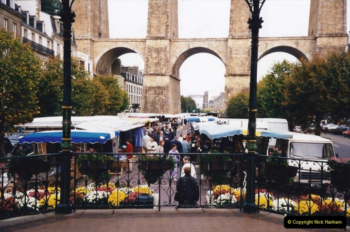 1995 France October. (58) Morlais and the Market. 58