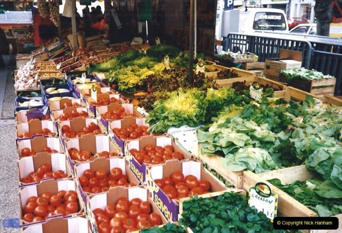 1995 France October. (62) Morlais and the Market. 62