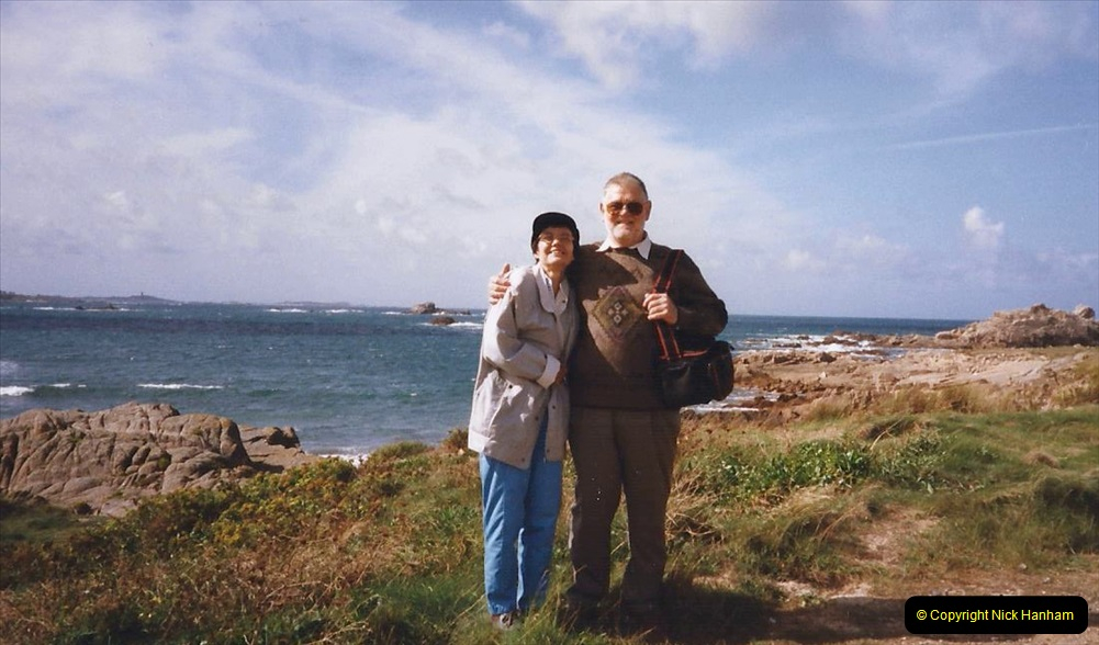 1999 September for a short dtay in Guernsey with friends. (21) Your Host and Wife.21