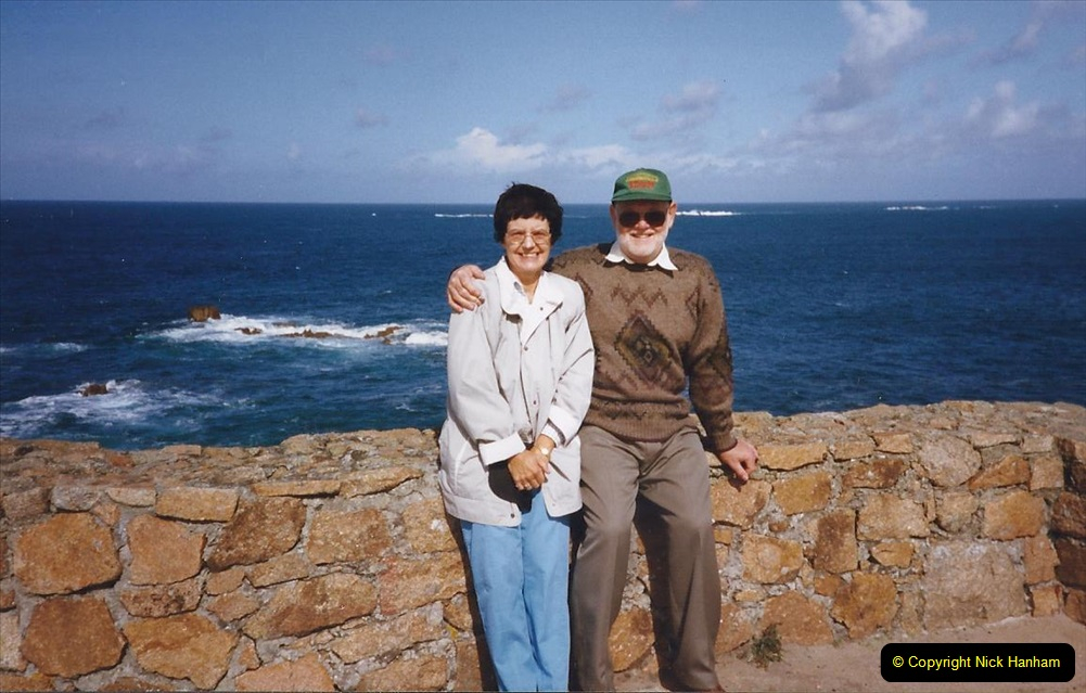 1999 September for a short dtay in Guernsey with friends. (27) Your Host and Wife.27