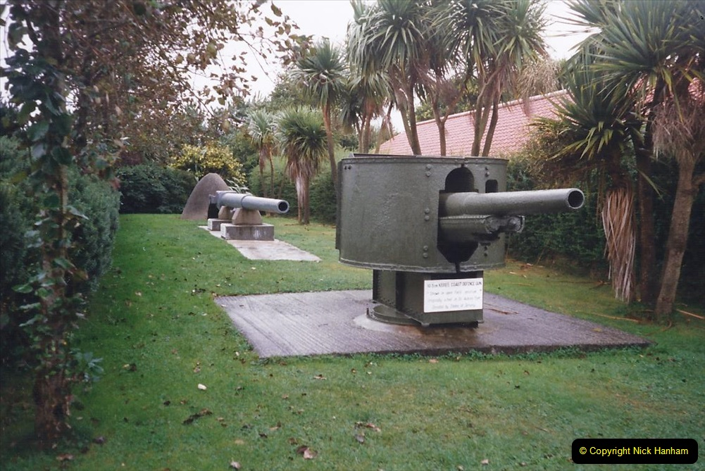 1999 September for a short dtay in Guernsey with friends. (33) Occupation Museum. 33