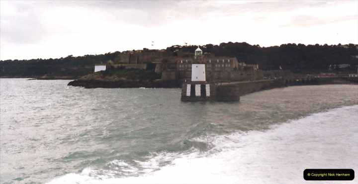 1999 September for a short dtay in Guernsey with friends. (71) Leaving Guernsey.71