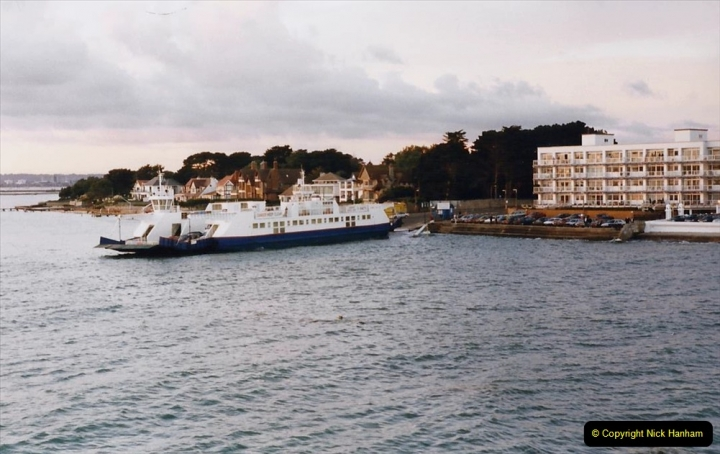 1999 September for a short dtay in Guernsey with friends. (73) Arrival back in Poole. 73