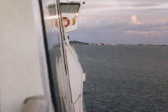 1999 September for a short dtay in Guernsey with friends. (2) Leaving Poole. 02