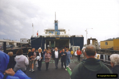 1999 September for a short dtay in Guernsey with friends. (46) New ferry Commodore Clipper open to the public. 46