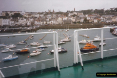 1999 September for a short dtay in Guernsey with friends. (57) New ferry Commodore Clipper open to the public. 57