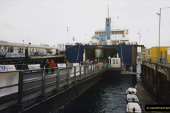 1999 September for a short dtay in Guernsey with friends. (59) New ferry Commodore Clipper open to the public. 59