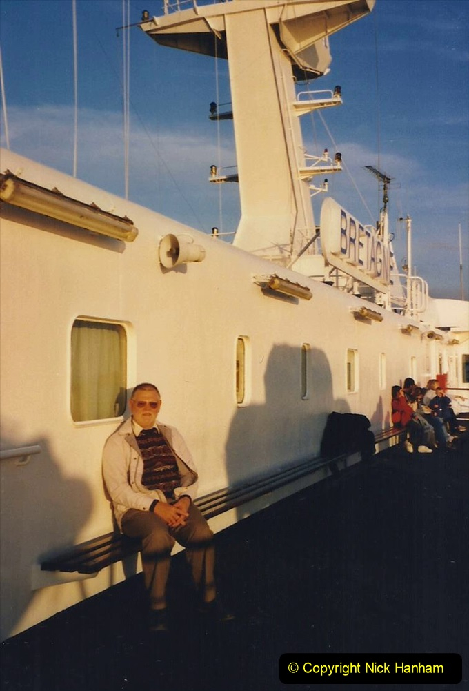 2000 France in September. (1) Plymouth to Roscoff. 01
