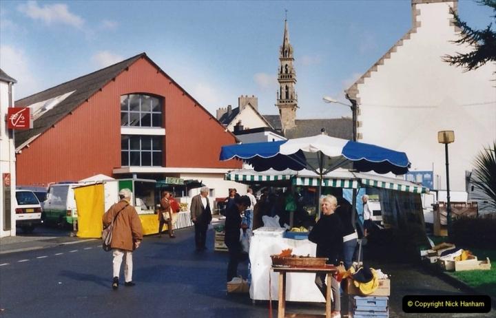2000 France in September. (21) Carantec Market.  21