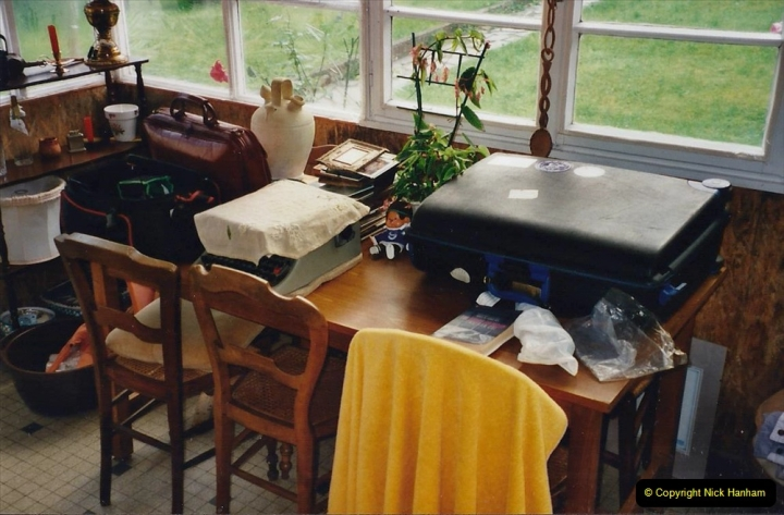 2000 France in September. (46) Packing for return journey. 46