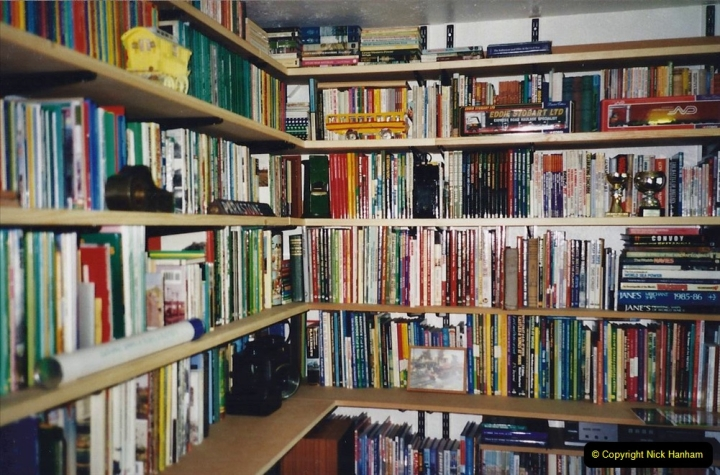 2000 Miscellaneous. (103) Your Host builds himself a new study. 104