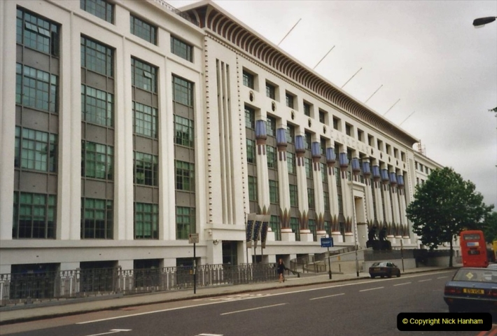 2000 Miscellaneous. (228) London. The Black Cat Building and factory. 229