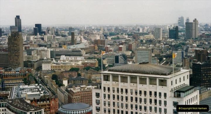 2000 Miscellaneous. (290) London Eye. Towards the East End.291