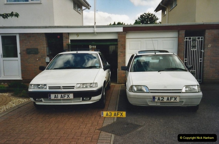 2000 Miscellaneous. (29a) Our cars with the addition of A3 AFX. 227029