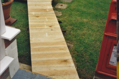 2000 Miscellaneous. (111) Your Host designs and builds a new board walk.112