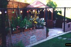 2000 Miscellaneous. (126) Our back garden. 127