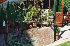 2000 Miscellaneous. (127) Our back garden. 128