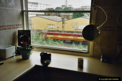2000 Miscellaneous. (224) London. Our London accommodation with a friend and a great vies of the main line out of Euston.225