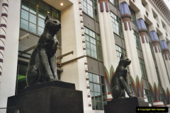 2000 Miscellaneous. (231) London. The Black Cat Building and factory. 232