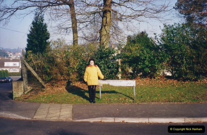 2001 Miscellaneous. (1) Your Host and Wife out for a New Year walk. 001