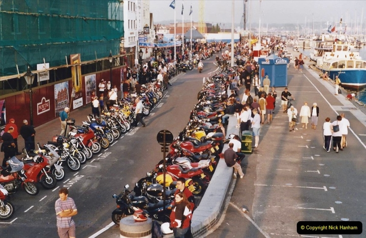 2001 Miscellaneous. (177) Tuesday nights is Bikers Night on Poole Quay, Poole, Dorset. 177