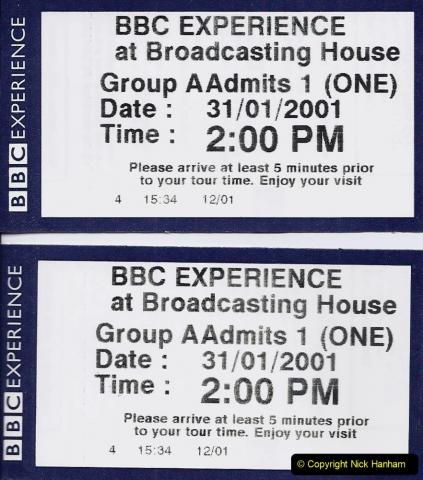 2001 Miscellaneous. (18) London BBC visit. 018