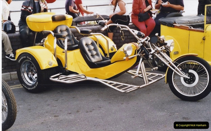 2001 Miscellaneous. (190) Tuesday nights is Bikers Night on Poole Quay, Poole, Dorset. 190