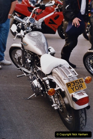 2001 Miscellaneous. (194) Tuesday nights is Bikers Night on Poole Quay, Poole, Dorset. 194