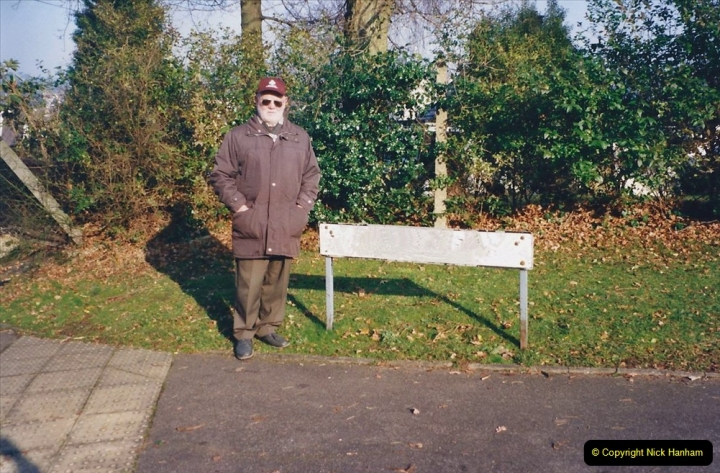 2001 Miscellaneous. (2) Your Host and Wife out for a New Year walk. 002