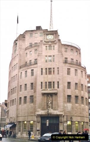 2001 Miscellaneous. (20) London BBC visit. 020