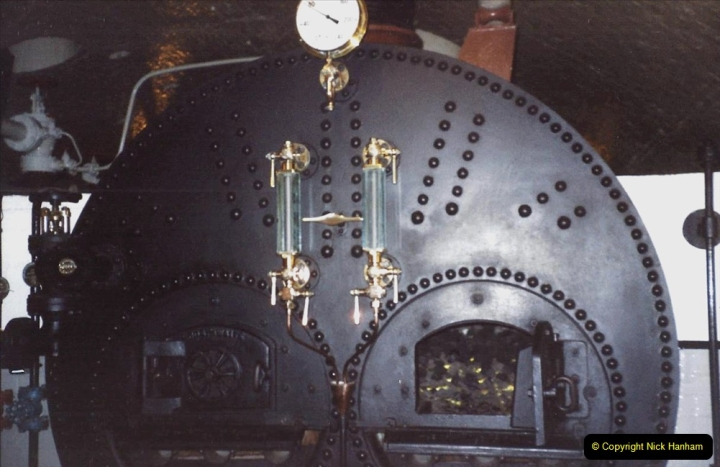 2001 Miscellaneous. (262) Tower Bridge and now redundant steam engine room. The tower is now all electric. 263