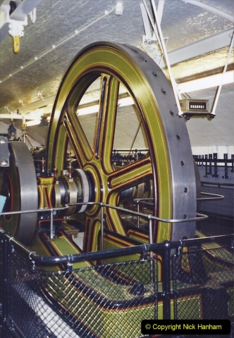 2001 Miscellaneous. (267) Tower Bridge and now redundant steam engine room. The tower is now all electric. 268