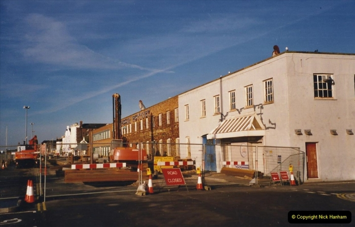 2001 Miscellaneous. (27) Poole Quay and area, Poole, Dorset. New building work on the Quay. 027
